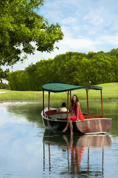 Mayakoba water taxi